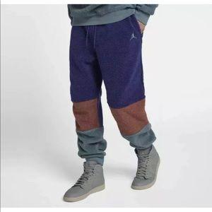 Nike Jordan Sportswear Sherpa Jogger Pants Size L
